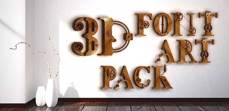 Download UPDATE 3D Font Art Pack - Unity Forum